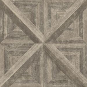 2922-25372 Carriage House Geometric Wood Brown Brewster Wallpaper