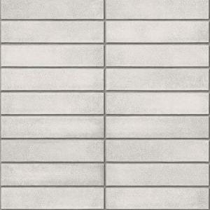 2922-25374 Midcentury Modern Bricks Light Grey Brewster Wallpaper
