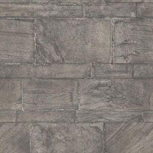 2922-25375 Murray Stone Wall Dark Grey Brewster Wallpaper