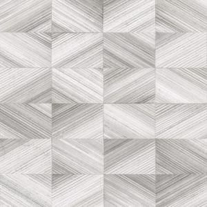 2922-25379 Stratum Geometric Wood Grey Brewster Wallpaper