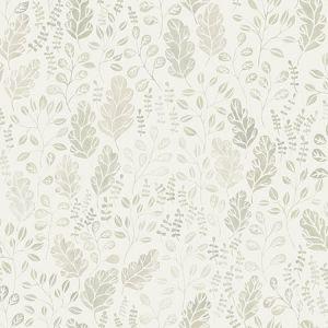2948-27011 Isha Leaf Beige Brewster Wallpaper