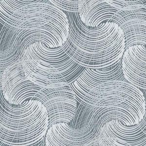 2964-25905 Karson Swirling Geometric Blue Brewster Wallpaper