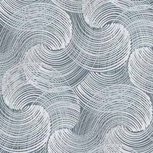 2964-25905 Karson Swirling Geometric Blue Brewster Wallpaper