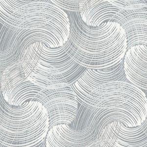 2964-25908 Karson Swirling Geometric Slate Brewster Wallpaper
