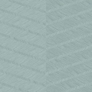 2964-25916 Aspen Chevron Aqua Brewster Wallpaper