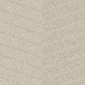 2964-25918 Aspen Chevron Champagne Brewster Wallpaper