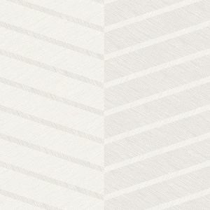 2964-25919 Aspen Chevron White Brewster Wallpaper