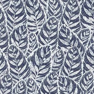 2964-25921 Del Mar Botanical Indigo Brewster Wallpaper