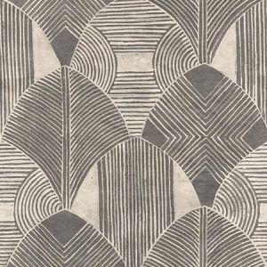 2964-25928 Westport Geometric Charcoal Brewster Wallpaper