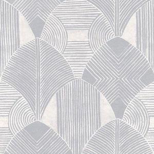 2964-25929 Westport Geometric Pewter Brewster Wallpaper