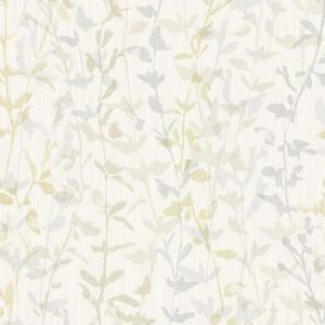 2964-25933 Thea Floral Trail Light Grey Brewster Wallpaper