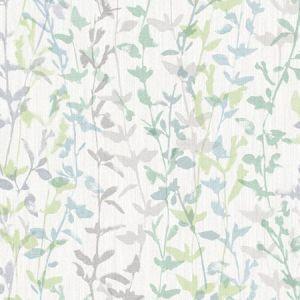 2964-25937 Thea Floral Trail Green Brewster Wallpaper