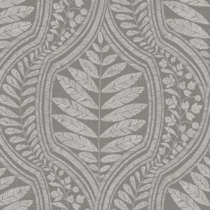 2964-25951 Juno Ogee Dark Grey Brewster Wallpaper