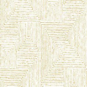 2964-25957 Merritt Geometric Honey Brewster Wallpaper