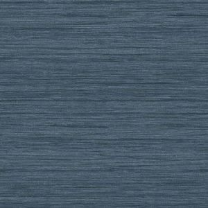 2964-25959 Barnaby Faux Grasscloth Indigo Brewster Wallpaper