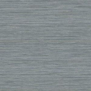 2964-25963 Barnaby Faux Grasscloth Slate Brewster Wallpaper