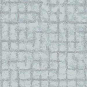 2964-87347 Shea Distressed Geometric Sky Blue Brewster Wallpaper