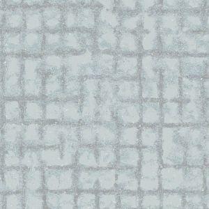 2964-87347 Shea Distressed Geometric Sky Blue Brewster Wallpaper