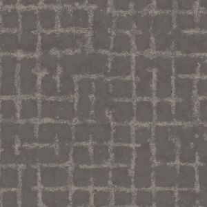 2964-87349 Shea Distressed Geometric Charcoal Brewster Wallpaper