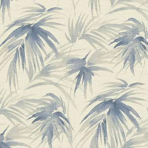 2964-87410 Darlana Grasscloth Blue Brewster Wallpaper
