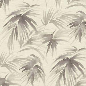 2964-87411 Darlana Grasscloth Pewter Brewster Wallpaper