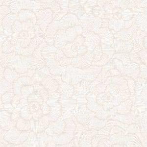 2969-26037 Periwinkle Textured Floral Pink Brewster Wallpaper