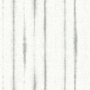 2969-26053 Orleans Shibori Faux Linen Grey Brewster Wallpaper