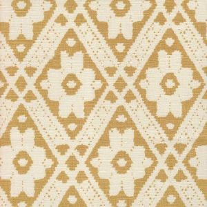 305051F VIENNESE Camel on Tint Quadrille Fabric