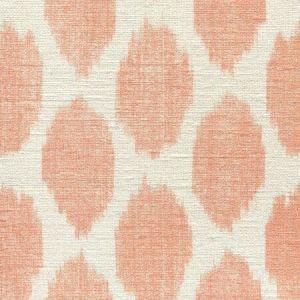 306109S ADRAS Orange on Silk Matka Quadrille Fabric