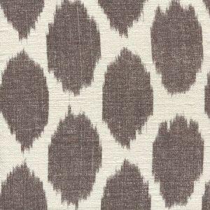 306110S ADRAS Brown on Silk Matka Quadrille Fabric