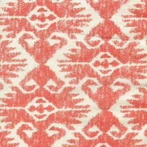 306217F TUCSON Orange on Tint Quadrille Fabric