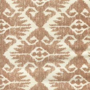 306218F TUCSON Tobacco on Tint Quadrille Fabric