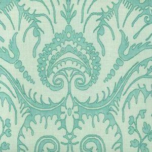 306242F BORGHESE Multi Aqua on Tint Quadrille Fabric