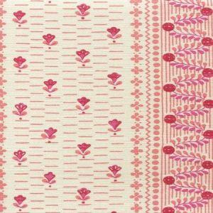 306293F LINKS II Multi Pinks on Tinted Linen Cotton Quadrille Fabric