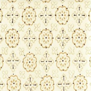 306301CTTN CRAWFORD Multi Taupe Brown Quadrille Fabric