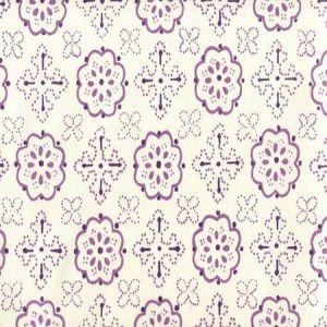 306304CTTN CRAWFORD Multi Lavender  Quadrille Fabric
