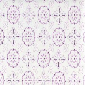 306310CTTN CRAWFORD Light Lavender Quadrille Fabric