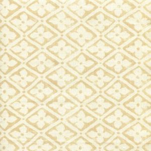 306330F-01 PUCCINI Taupe on Tinted Linen Quadrille Fabric