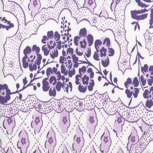 306430C-05CTN LEOPARDO II Purple Lilac on Cotton Sateen Quadrille Fabric
