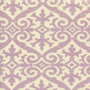 306490F-05 FRENCH DAMASK Soft Lavender on Tint Quadrille Fabric