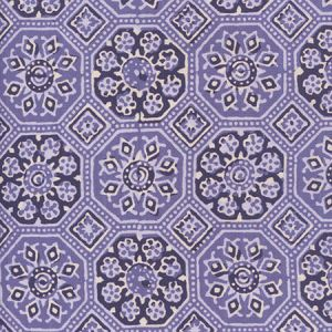 306600F-02 LORENZO ALL OVER Multi Lavenders Quadrille Fabric