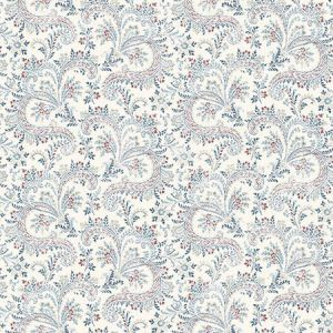 3119-01385 Sycamore Paisley Floral Denim Brewster Wallpaper