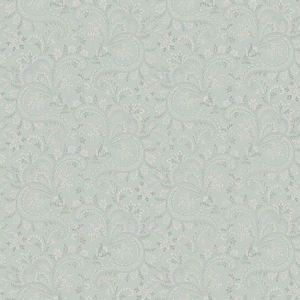3119-01386 Sycamore Paisley Floral Sage Brewster Wallpaper