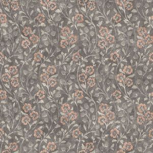 3119-13054 Patsy Floral Charcoal Brewster Wallpaper