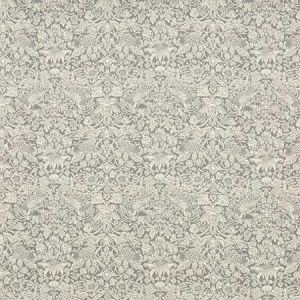 STRAWBERRY MEADOW EL Pewter Fabricut Fabric