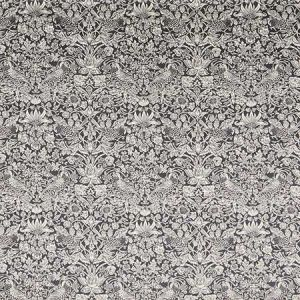 STRAWBERRY MEADOW VV Dark Pewter Fabricut Fabric