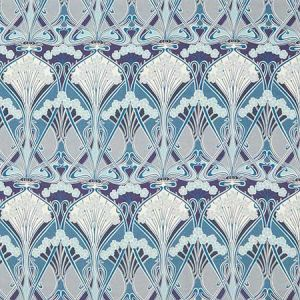 IANTHE BLOOM MLTI LL Lapis Fabricut Fabric