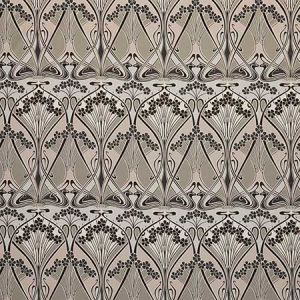IANTHE BLOOM MLTI CV Dark Pewter Fabricut Fabric