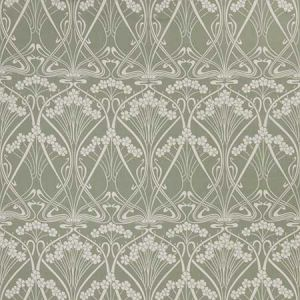 IANTHE BLOOM MONO CL Lichen Fabricut Fabric