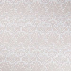 IANTHE BLOOM MONO CL Pewter Plastic Pink Fabricut Fabric